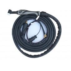 Сварочная горелка TIG 18F разъём 35-50 ( жидкостное охлаждение ) 8 метров